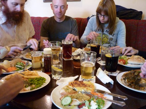 Friday Lunch Club at the University Arms