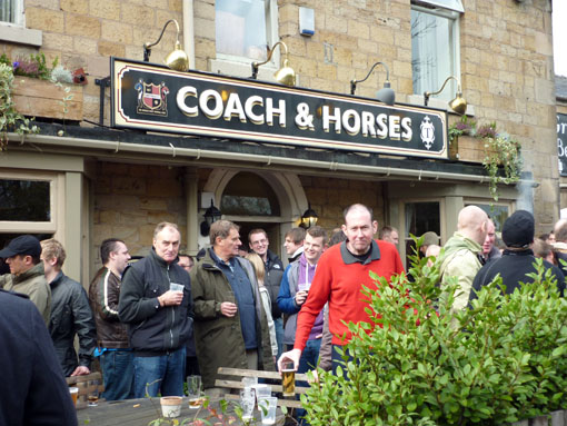 Coach and Horses 23 October 2010