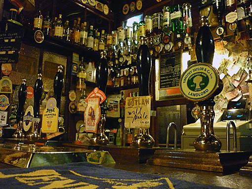 Blue Bell, bar