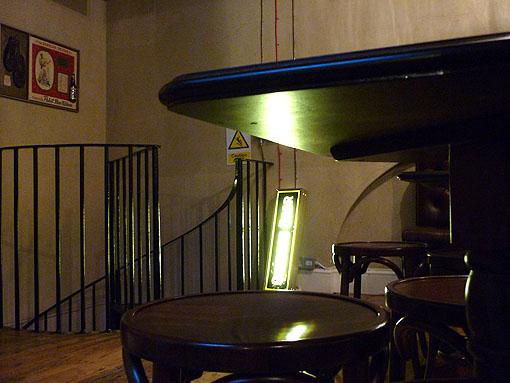 Euston Tap, upstairs