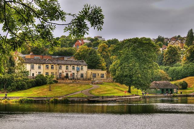 The Dam House in Crookes Valley Park